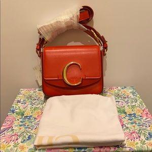 NWT Authentic Chloe mini C Bag